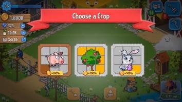 Idle Farming Empire взломанный (Мод много денег)
