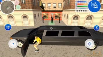 Gangster Town: Vice District взломанный (Мод много денег)
