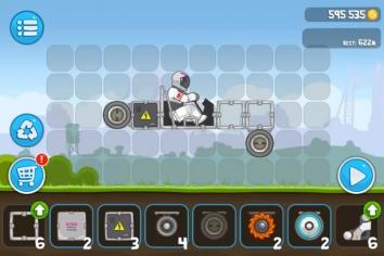 RoverCraft - построй луноход взломанная (Мод много денег)