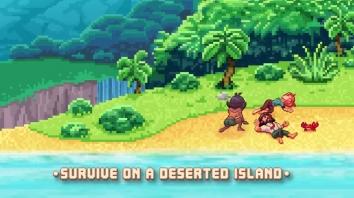 Tinker Island взломанный (Мод много кристаллов)