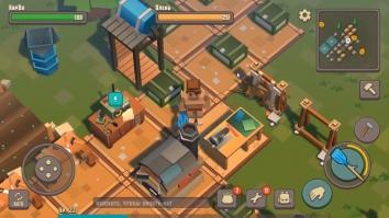 Cube Survival Story взломанный (Мод бесплатный крафт)