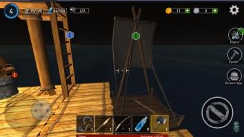 Ocean Nomad: Выживание на плоту взломанный (Мод много денег)