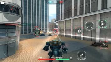 ROBOT WARFARE ONLINE взломанный (Мод много оружия, режим бога)