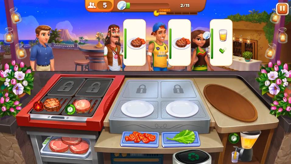 игра кулинарное безумие мод на деньги