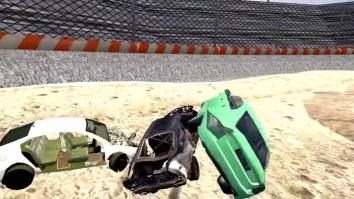 Derby Destruction Simulator взломанный (Мод много денег)
