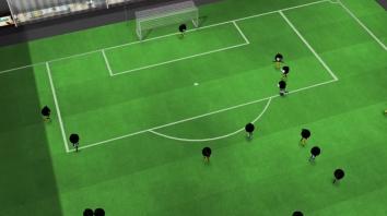 Stickman Soccer 2018 взломанный (Мод много денег)