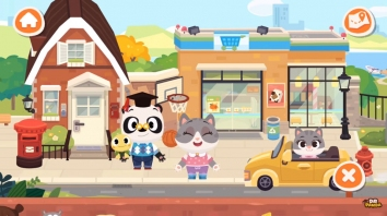 Город Dr. Panda взломанный (Мод все открыто)