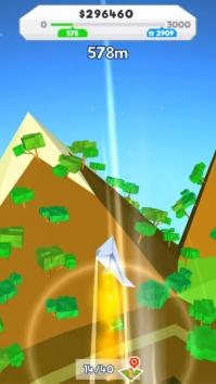 Paper Plane Planet взломанный (Мод много денег)
