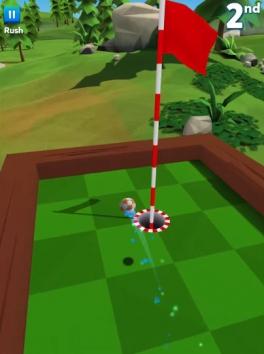 Golf Battle взломанный (Мод много денег)