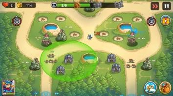 Kingdom Defense 2: Tower Defense взлом (Мод много денег)