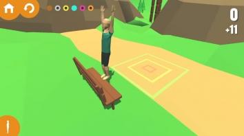 Flip Trickster - Parkour Simulator взломанный (Мод много денег)