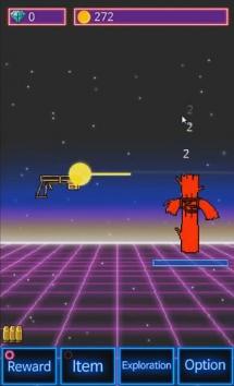 Tap Tap Gun взломанный (Мод много денег)