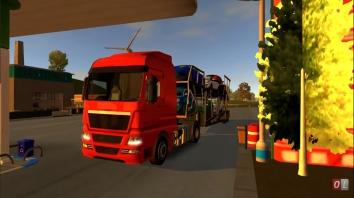 Euro Truck Driver - 2018 взломанная (Мод много денег)