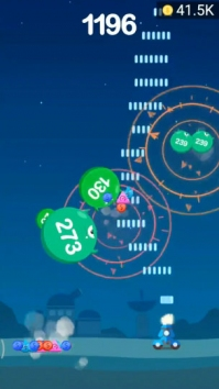 Jump Ball Blast взломанная (Мод много денег)