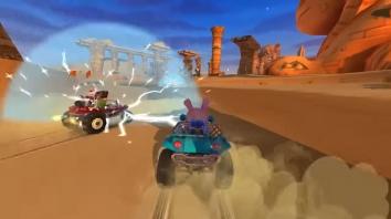 Beach Buggy Racing 2 взломанный (Мод много денег)