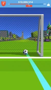 Soccer Kick взломанный (Мод много денег/все открыто)