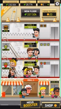 Idle Shopping Mall Tycoon взлом (Мод много денег)