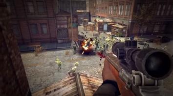 Last Hope Sniper - Zombie War взломанная (Мод много денег)