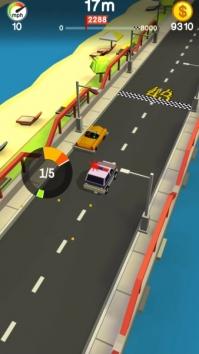 Crashy Cops! взломанный (Мод много денег)