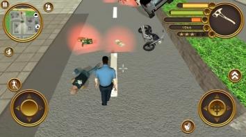 Взломанный Miami Crime Police (Мод много денег)
