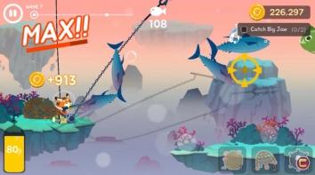 Взломанный The Fishercat (Мод много денег)