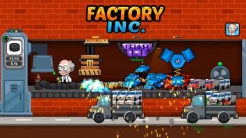 Factory Inc. взломанный (Мод много кристаллов и денег)