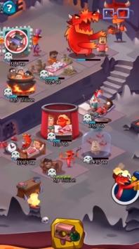 Idle Evil — Clicker Simulator взломанный (Мод много денег)