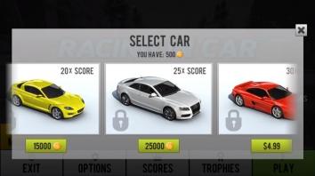 Racing in Car 2 взломанная (Mod на деньги)