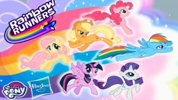 My Little Pony Радужные гонки взломанная (Мод все открыто)