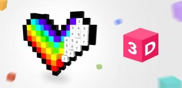 Number Coloring – 3D No.Draw полная версия (взломанный)
