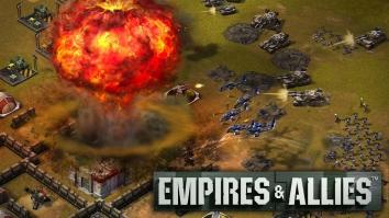Empires and Allies взломанная (Мод много денег)