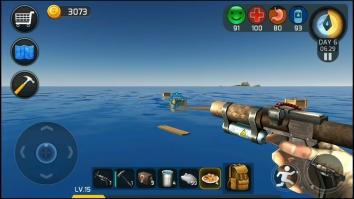 Ocean Survival взломанный (Мод много денег)