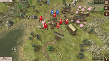 Shogun's Empire: Hex Commander взломанный (Мод все открыто)