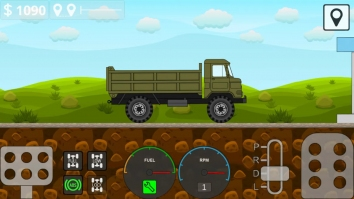 Mini Trucker взломанный (Мод много денег)