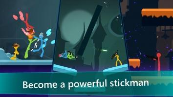 Stickfight Infinity взломанный (Мод много денег)