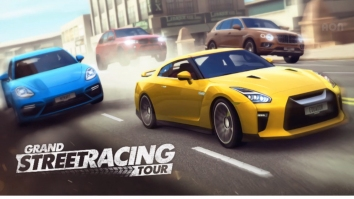Grand Street Racing Tour взломанный (Мод много денег)