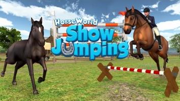 Мир лошадей – конкур взломанный (Мод много денег)