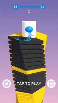 Stack Ball - сломай платформы взломанный (Мод режим бога / все открыто)
