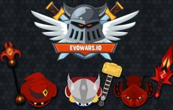 EvoWars.io взломанный (Мод на бессмертие)