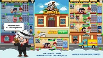 Business Tycoon взломанный (Мод много денег)