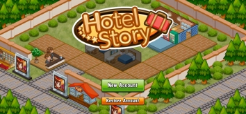 Hotel Story: Создайте курорт взломанный (Мод много денег)