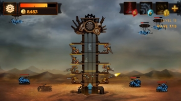 Steampunk Tower взломанный (Мод много денег)