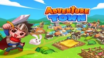 Adventure Town взломанный (Мод много денег)