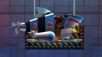 Robot Shark взломанный (Мод много денег)