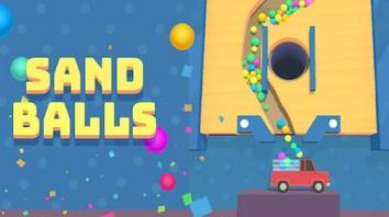 Sand Balls взломанный (Мод много денег)