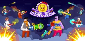 Ragdoll Rage: Heroes Arena взлом (Мод много денег)