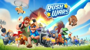 Rush Wars взломанный (Мод много денег)