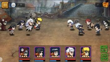 Ninja Heroes - Storm Battle: best anime RPG взломанный (Мод много денег)