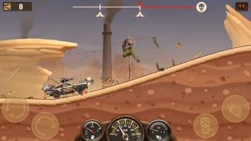 Зомби Hill Racing - Earn To Climb взломанный (Mod: много денег)