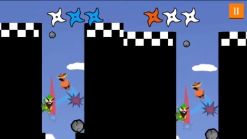 Прыжки ниндзя 2 игрока игры взломанный (Мод много денег)